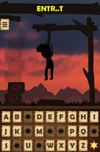 Hangman Wild West