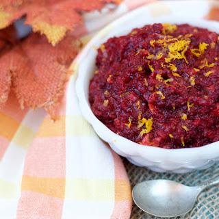 Raw Orange-Cranberry Relish