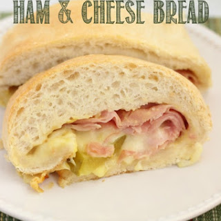 Ham & Cheese Stuffed Bread.