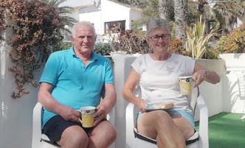 Our man Steve stuck in Spain