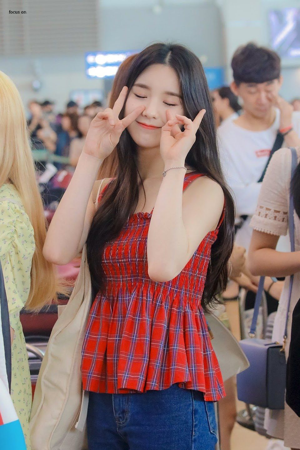 heejin plaid 23