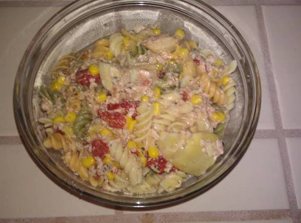 Southwestern Salmon Pasta Chowder/soup Recipe