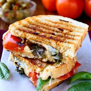 Caprese Panini Sandwich.