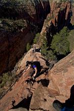 Photo: Zion Angels Landing Hike 298