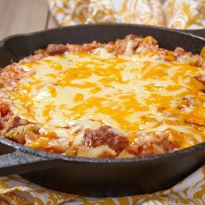 Cornbread Enchilada Skillet