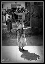 Photo: Women carrying firewood  My contribution to: #WomanWednesday curated by +Athena Carey +Niki Aguirre +Lee Daniels +Christina Lawrie  #PlusPhotoExtract by +Jarek Klimek