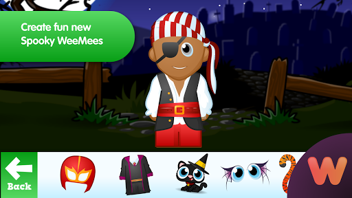 WeeMee Halloween Maker 1.0 screenshots 2