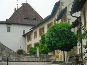 Photo: Visite du bourg de Cerlier