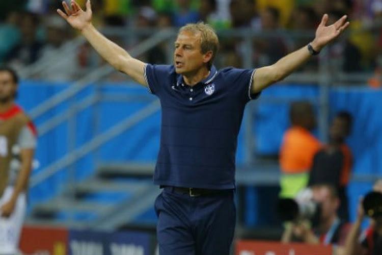 """Klinsmann réaliste : """"Les Belges auraient pu plier le match plus tôt"""""""