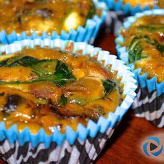 Mini Quiche Cups - Healthy High Protein Grab & Go Snack.