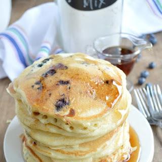 Homemade Fluffy Pancake Mix.