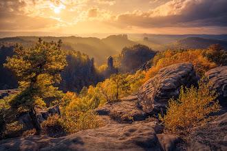 Photo: Carolafelsen, Saxon Switzerland, Germany