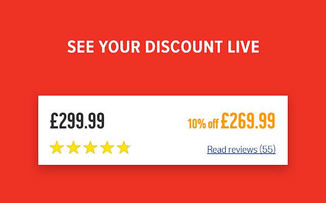 Argos Discount Viewer