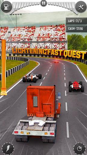 Real Thumb Car Racing; Top Speed Formula Car Games 1.3.2 screenshots 9