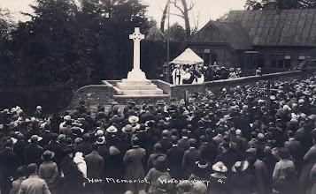 Photo: The War Memorial, Wateringbury Kent