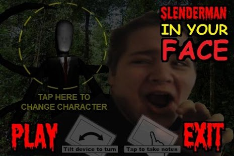 IN YOUR FACE SLENDERMAN- screenshot thumbnail