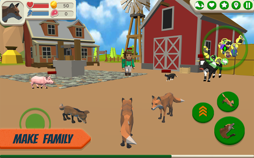 Fox Family - Animal Simulator 3d Game 1.06 screenshots 2