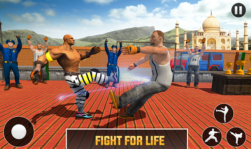 Grand Ring Battle: Fight Prisoner Karate Fighting android2mod screenshots 3