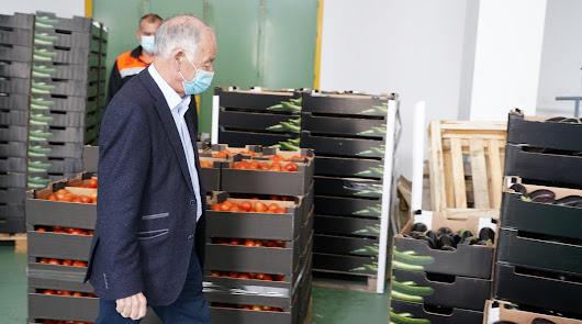 El alcalde de Roquetas agradece a solidaridad está recibiendo el municipio