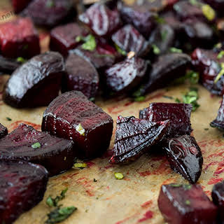 Roasted Beets with Parsley.
