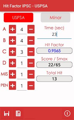 Shoot utilities IPSC - USPSA - screenshot