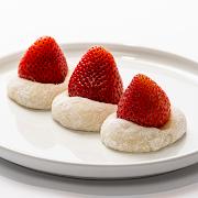 Strawberry Red Bean Mochi (3 pcs)