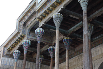Photo: Day 164 - Ceiling of Bolo Hauz in Bukhara #2