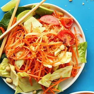 Vegan Papaya Salad