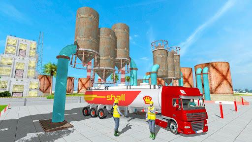 Big Oil Tanker Truck US Oil Tanker Driving Sim screenshots 12