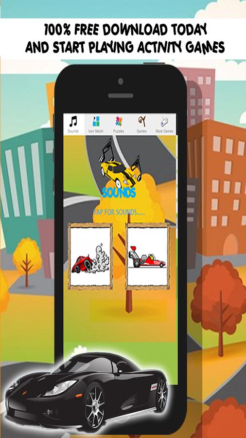 car games for free kids screenshot