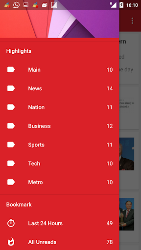 The Star Unofficial RSS Reader