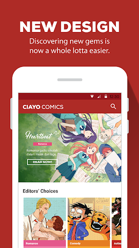 CIAYO Comics - Free Webtoon Comics for PC