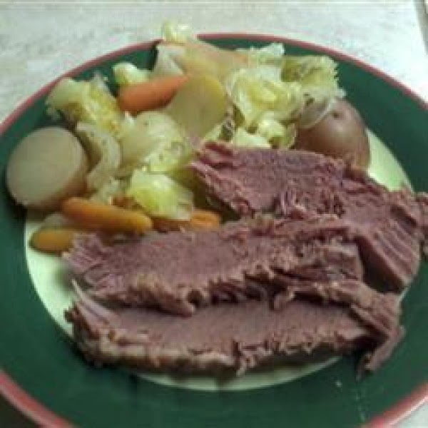 Crockpot Corned Beef And Cabbage Recipe
