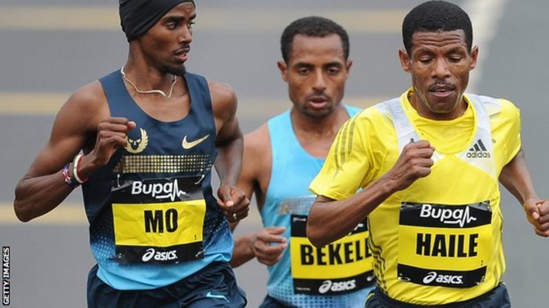 Mo Farah, Haile Gebrselassie in dispute over alleged hotel theft
