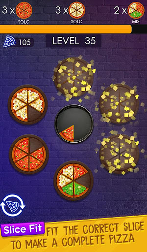 Fit The Slices u2013 Pizza Slice Puzzle screenshots 1