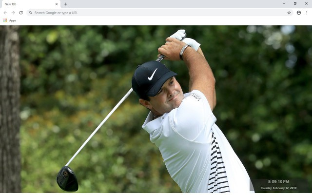 Patrick Reed New Tab & Wallpapers Collection