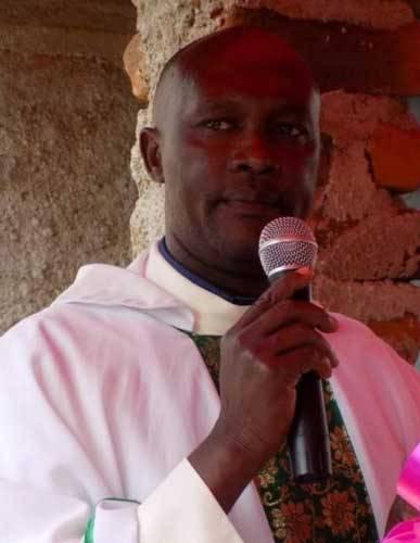 The slain Father Michael Maingi