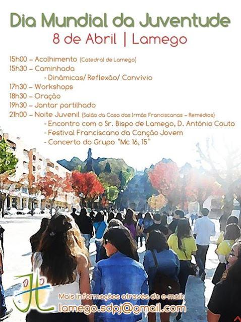 Dia Mundial da Juventude - 8 de abril - Lamego