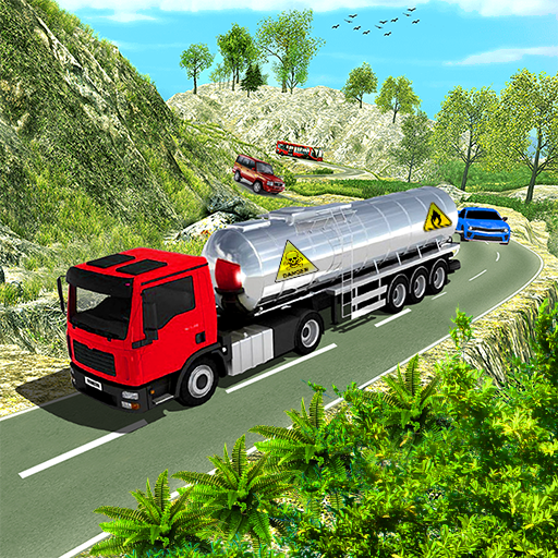 Oil Tanker Transport Truck cargo