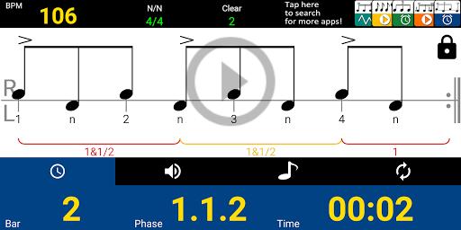 Drum Beat Metronome 1.10.2 screenshots 1
