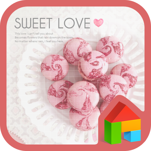 sweet loveドドルランチャーのテーマ 個人化 App LOGO-硬是要APP