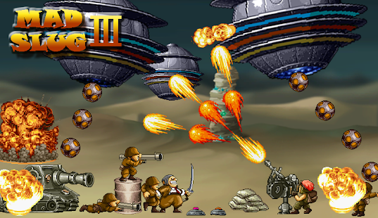 Ace Force - Mad Slug 3 screenshot