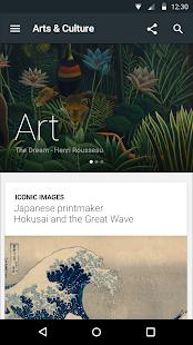 Google Arts & Culture- screenshot thumbnail
