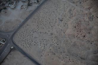 Photo: West bank, balloon, excavations?