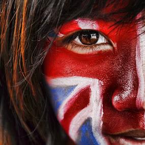 Britain Women by Muhammad Muqri - People Portraits of Women ( brown eye, women, people, portrait, britain )