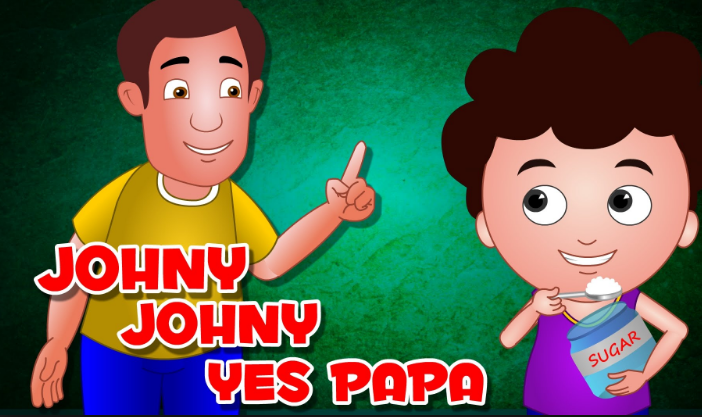 Johny Johny Yes Papa- screenshot