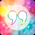 Rainbow Quotes icon