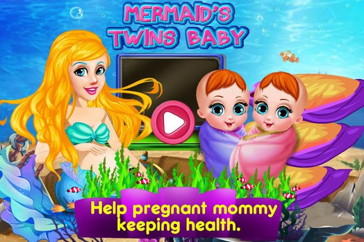 android Mermaid's Twins Baby-Preganant Screenshot 6