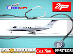 Affordable Fare and Medical Support Air Ambulance in Patna