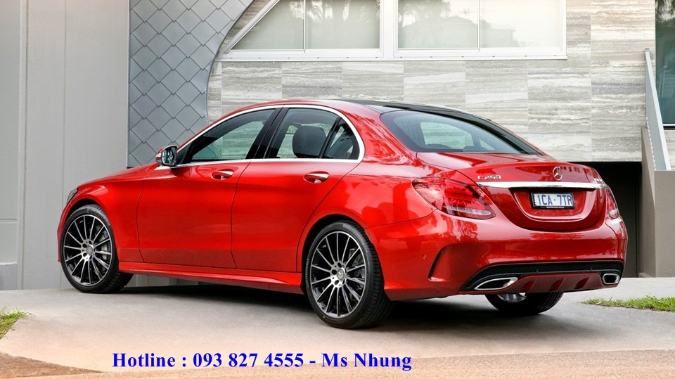 mercedes-c300-amg-red-4